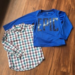 Gymboree & Carter's Long Sleeve Shirts